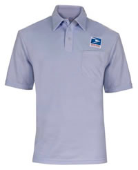 642ca3d7d56 Men s Elbeco USPS Letter Carrier Polo Knit Shirt