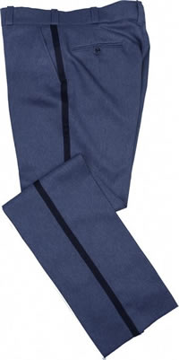 Men's Lightweight Relaxed Cut Style Postal Uniform Trousers