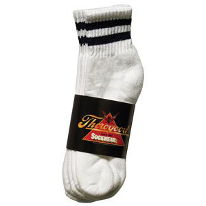 CoolMax White Ankle 3-Pack - Large