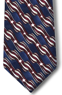 Men's Retail Clerk Postal Uniform Stars and Stripes Four-In-